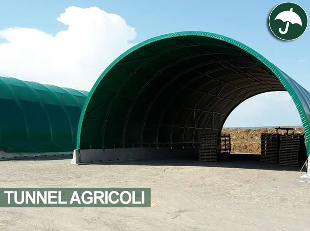 Tunnel e capannoni agricoli civert for Capannoni agricoli usati